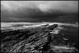 Bad weather near Feaval - Western Orkney