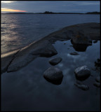 Evening at Boskär (Misterhult archipelago)