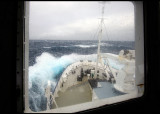 Spirit of Enderby heading for Macquarie Island in severe gale
