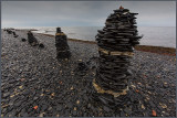 Stones (Skiffer) near the Lighthouse at Ottenby - built in summer 2012