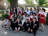 Students visiting Echmiatzid