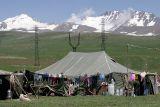 Yezad camp at 3000 m near Mt Aragats
