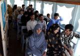 Local ferry to Bandar Abbas