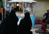 Women and children in Qom