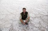 The Photographer in Dasht-e Kavir (Salt desert)