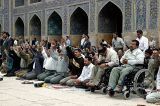 Friday prayer in Emam mosque - Esfahan
