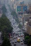 Early morning traffic in Teheran