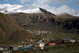 Small village in high Caucasus