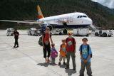 Paro Airport.