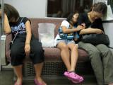 Sleepy Family