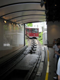 The Tram to Victoria Peak