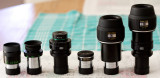 Various 5mm (equivalent) eyepieces