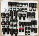 Binoviewer eyepiece collection