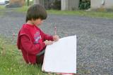 IMG_2365_ My 'Jojo' sandpainting drawing