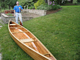 Bill s with his canoe .jpg