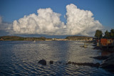 Fjallbacka clouds