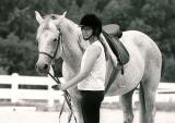 Caitlin at riding