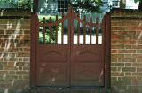 Yard gate  1309