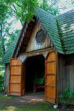 Woodburn barn door  5779