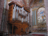 Organ in Church of Santa Maria degli Angeli