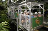 Tram to the ziplines