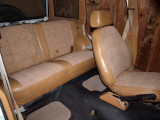 Got Top Half Of The Back Seat  Back From Upholstery Shop And Installed.
