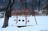 Swingset in Snow (11903)