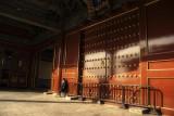 warm sun freezing cold china more big doors
