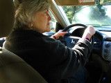 We were so lucky to have Barbara drive us to the airport .. B0637