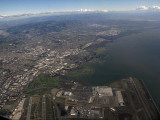 In the air over San Francisco Bay .. B0649