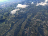 Over the Oakland- East Bay hills .. B0650