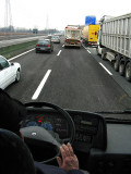 On the Autostrade to Milan .. B0724