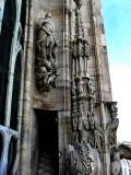 Sculptures on spires .. B0773