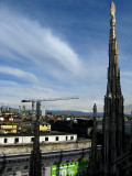 Spires overlooking the city .. B0806