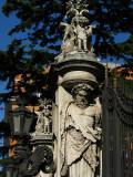 Sculpture in front of Palazzo Barbarini .. R9429
