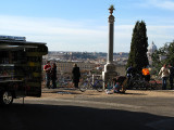 On Il Pincio from the terrace of the Piazzale Napoleone .. R9439