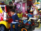 Borghese Gardens: Children's Carousel .. R9452