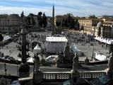 Piazza del Popolo from the terrace of Piazzale Napoleone .. R9457