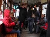 Riding  the tram .. 1118