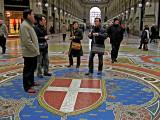 La Galleria, floor mosaic ..1137