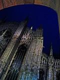 Duomo, closeup, night .. 1177