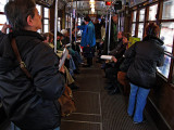 On the tram .. 1231