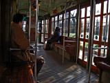On the tram .. 1678
