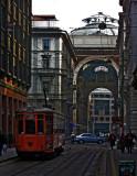 Tram on Via Grossi .. 1670