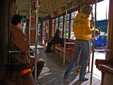 Getting off the tram .. 1679