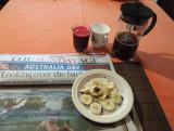 My breakfast.