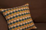 Hand-Knit Throw Pillow