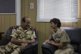 BGEN Al Mansoori and CDR Davids