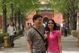 Hy and Janine at the Entrance to the Lama Temple