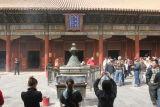Praying at the Lama Temple